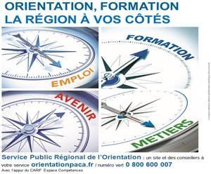 Le Service Public Régional de l'Orientation en région PACA